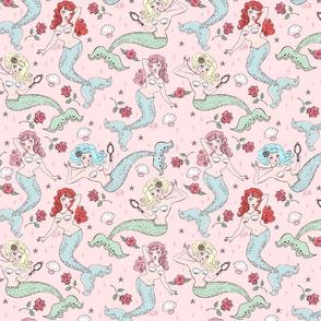 Mermaids and Roses-MEDIUM