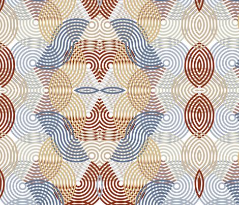 Big Yoyo fabric by fiber_ink_design on Spoonflower - custom fabric