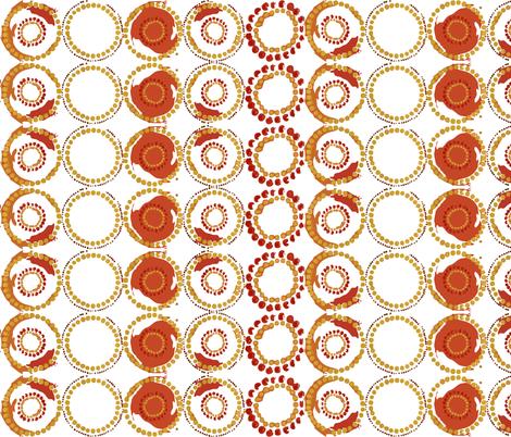 circles fabric by tat1 on Spoonflower - custom fabric