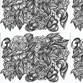 6 Europas Rose bw