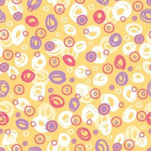 Ditsy Confetti Swirls
