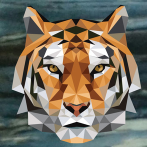 Fractured image Tiger Cheater