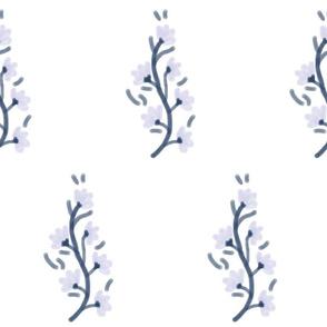 Petite Vines in Lavender