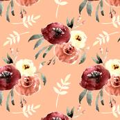 blushing florals