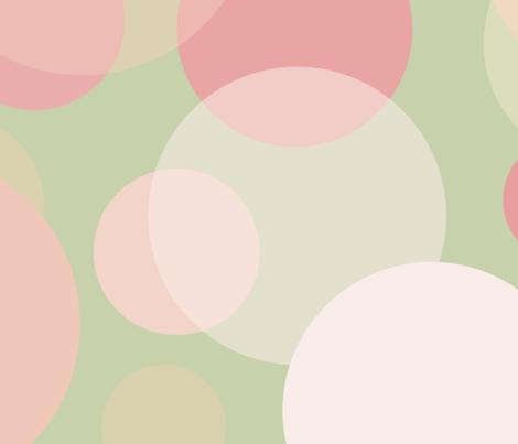Pastel Polka Dotacular fabric by enlarsen on Spoonflower - custom fabric