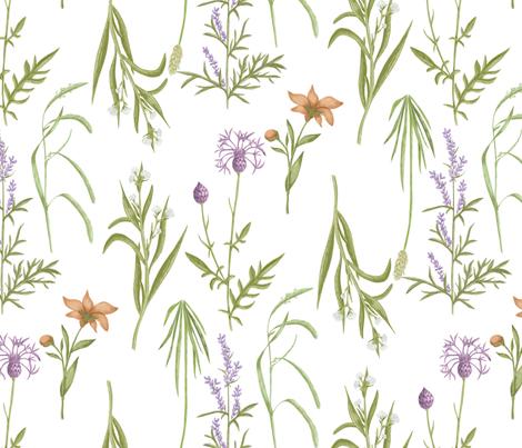 Wildflowerparade big fabric by ellila on Spoonflower - custom fabric