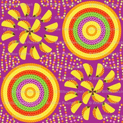Taco Pinwheels with Sombreros
