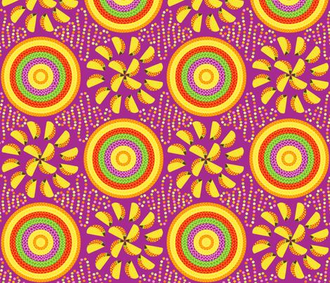 Taco Pinwheels with Sombreros fabric by willowbirdstudio on Spoonflower - custom fabric