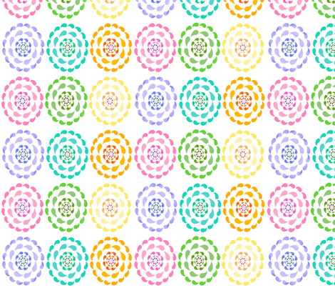 swimming in circles fabric by peonypanda on Spoonflower - custom fabric