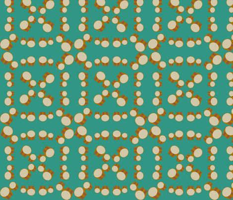 Bongos Collage-medium fabric by kae50 on Spoonflower - custom fabric