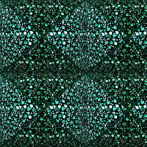 Emerald Shade of Triangles