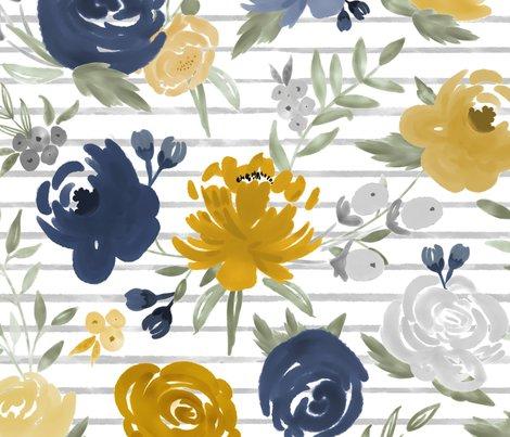Watercolorwashfloralfilledinexperimentsformoodymustardwgraystripes_shop_preview