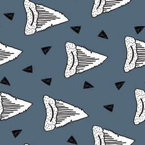 shark tooth // sharks shark teeth shark fabric boys room shark week shark  - rotated