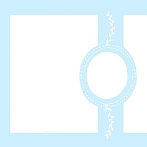 monogram blank 27x18  -  for 54 YARD blue