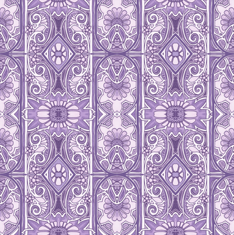 Do the Paisley Flower Twist fabric by edsel2084 on Spoonflower - custom fabric