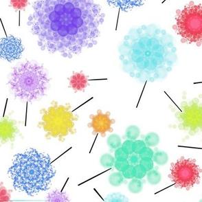 Summer pinwheels circling