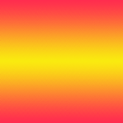 bright pink and yellow half-yard gradient