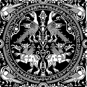 ancient Heraldry white
