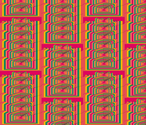 Sixties Trip fabric by sabrina_nowling on Spoonflower - custom fabric