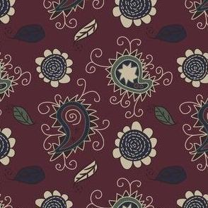 paisley trollop - rose