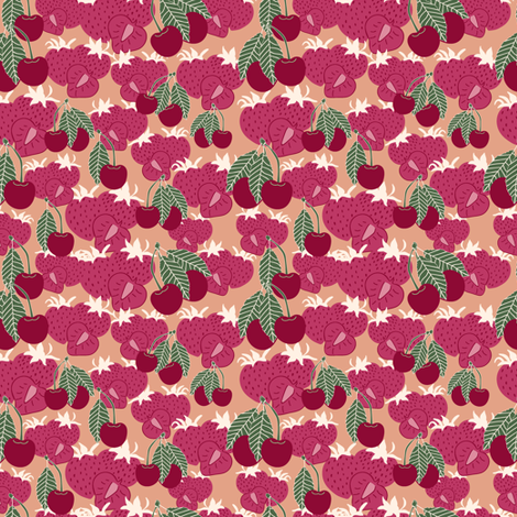 Brigth Berries fabric by liudmilakopecka on Spoonflower - custom fabric