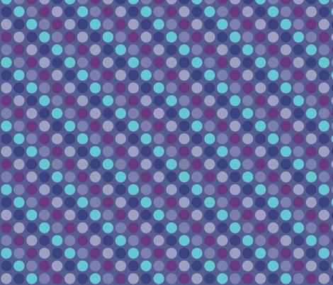 Blue Cicrles fabric by liudmilakopecka on Spoonflower - custom fabric
