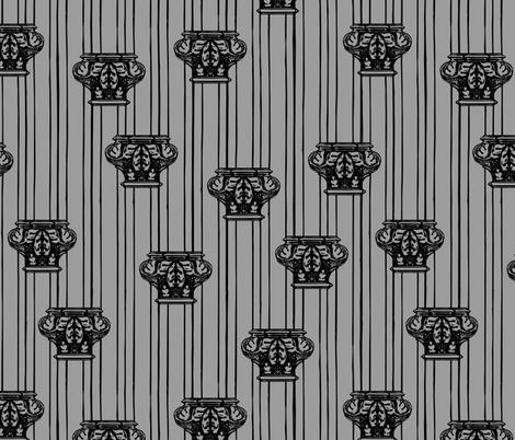 columns fabric by b0rwear on Spoonflower - custom fabric