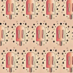 Pac-Man Treat Popsicle Pattern