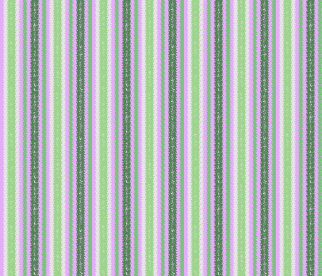 JP30 - Lilac and Green Jagged Stripes fabric by maryyx on Spoonflower - custom fabric