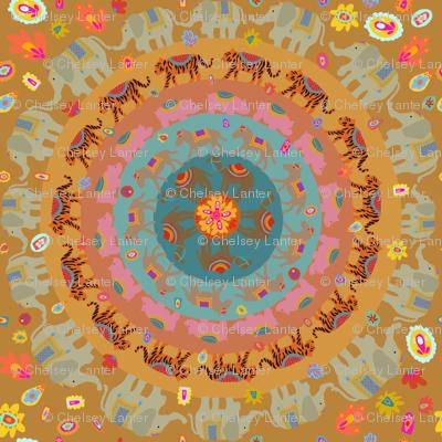 Boho Animal circle