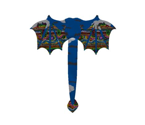 Halloween Bats on Night Sky Dark