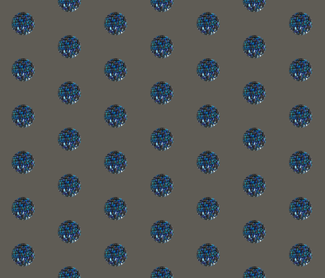 Grey Ocean Fiber fabric by studiodeanna on Spoonflower - custom fabric