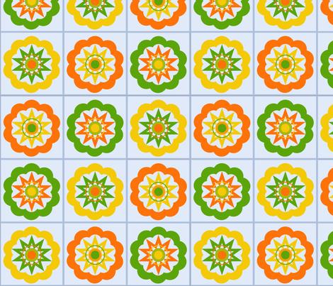 Granny Squares fabric by shortcake_studio on Spoonflower - custom fabric