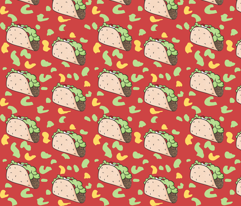 It's Taco Time fabric by how-store on Spoonflower - custom fabric