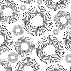 Abstract circles design for your print