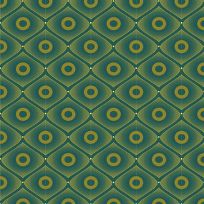Diamond Pattern 2 - Olive