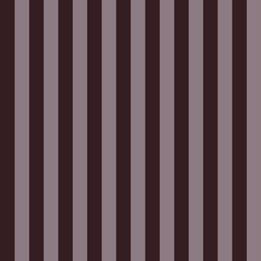 JP5 - Wide Chocolate Lavender, Puce Purplish Brown basic stripe