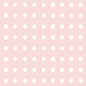 small dots WHITE & ROSE