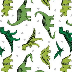 dinosaurs // dino fabric green baby nursery design andrea lauren fabric dinosaurs fabric  - railroad