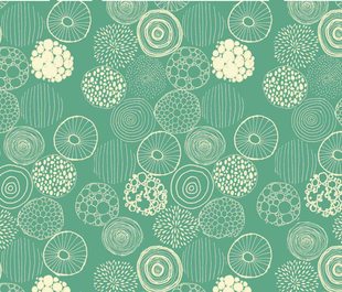 repeating circles fabric by nataliebee on Spoonflower - custom fabric
