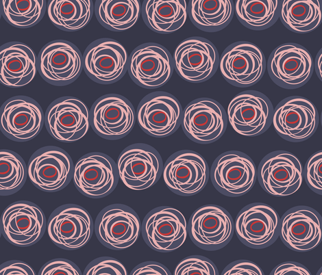 Ring o Roses fabric by fairytale_&_whimsy on Spoonflower - custom fabric