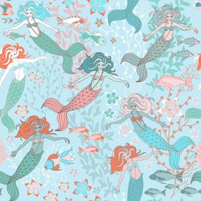 mermaid aqua