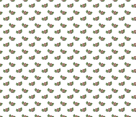 Little Roses fabric by liudmilakopecka on Spoonflower - custom fabric