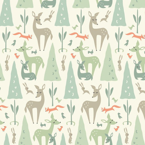 Deer Meadow: Mixed Greens