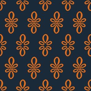 Texas Longhorns Dark Gray with Burnt Orange Oval Motif