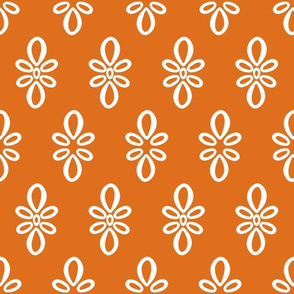 Texas Longhorns Burnt Orange with white oval motif