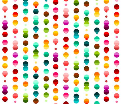 Modern Circles fabric by creativetaylor on Spoonflower - custom fabric
