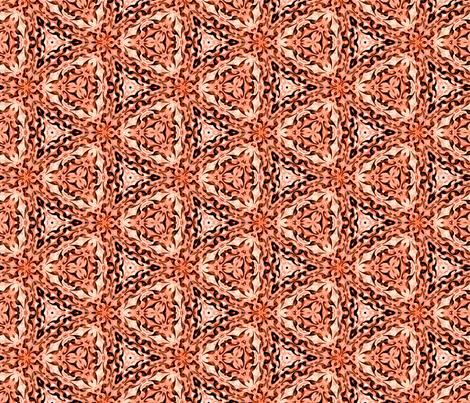 Starlet Ruby Ornamental fabric by sewingscientist on Spoonflower - custom fabric