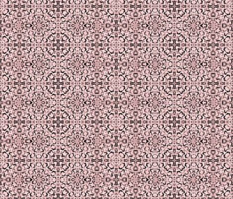 Flapper Blush Ornamental fabric by sewingscientist on Spoonflower - custom fabric