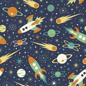 Space Race - Retro